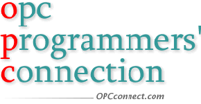 OPC Programmers' Connection - OLE for Process Control